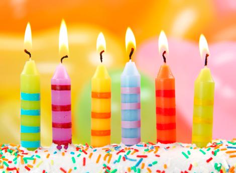 Открытки с днем рождения свечи 618