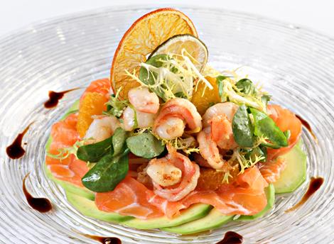 Новые изысканные рецепты салатов, горячего фото
