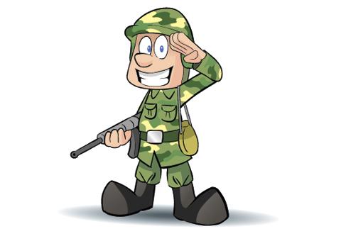 Картинки смешных солдатиков, вырезаем бумаги