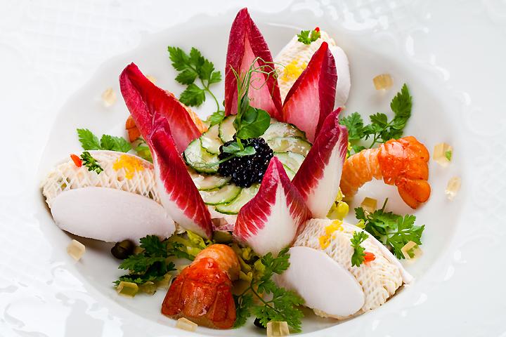 Новогодние салаты ресторанов москвы с фото