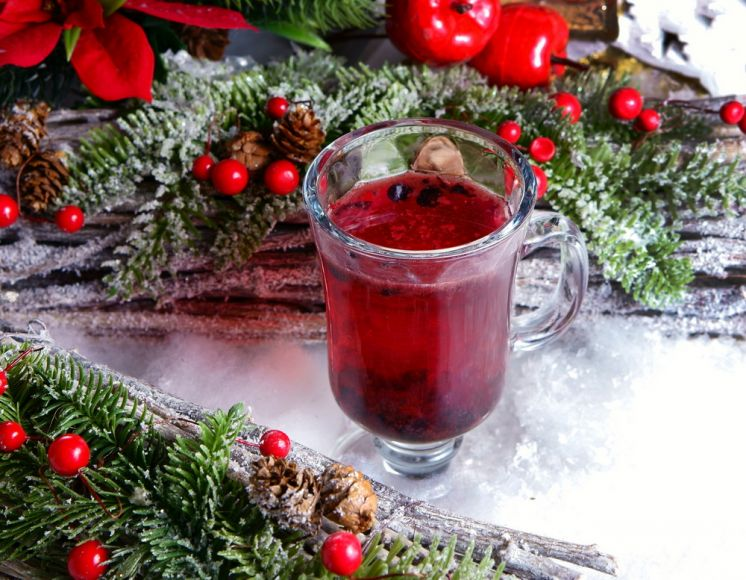 Bluberry Mulled Wine