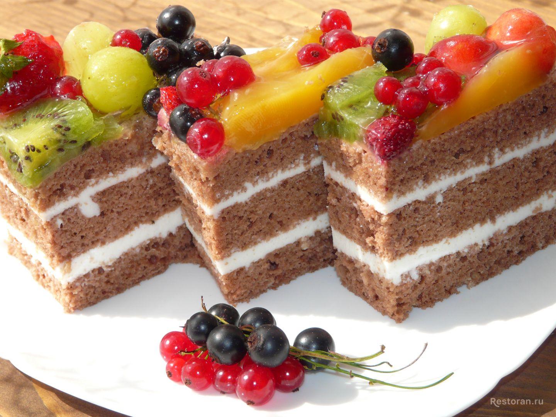 торт ягодная корзинка рецепт с фото накройте полотенцем